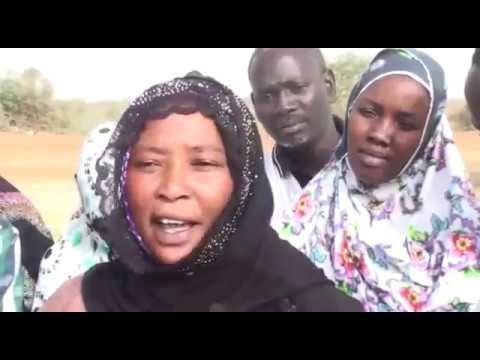 Populations de Mbowar ( Entre Diama commune et le Parc du Djoudj)