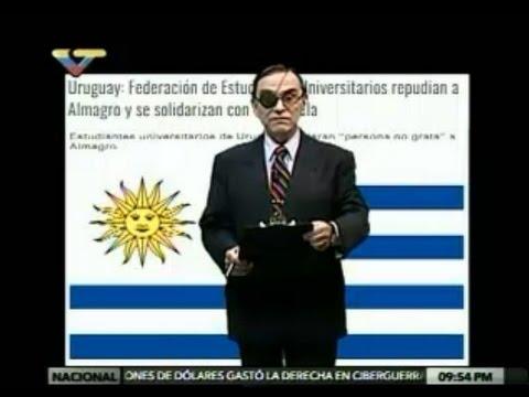 Dossier Walter Martínez 210417 Israel Siria EEUU Filipinas Rusia UNASUR Uruguay Venezuela