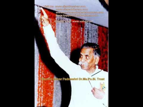 Silambu Selvar Dr.Ma.Po.Si. Speech In Kaviarangam-3