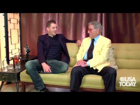 Michael Bublé & Tony Bennett Talk About The Duet Album - March 2011