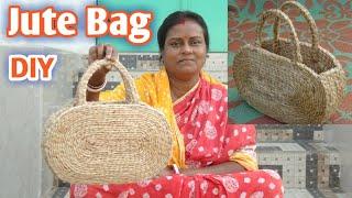 DIY Handmade Jute Rope Hand Bag   Make at home   #Jute DIY