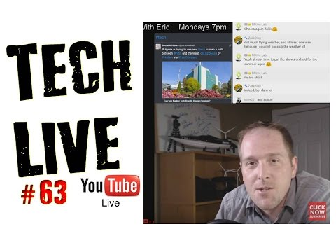 Technology News Electronics, Hacking & MORE | Monday Tech Live Show #63