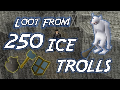 Loot From 250 Ice Trolls - OSRS Money Making by Xrenor