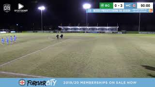 2019 Friendly - Bentleigh Greens v Melbourne City