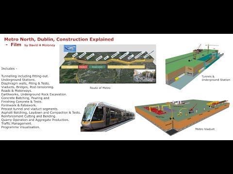 Metro North, Dublin, Construction Explained r3