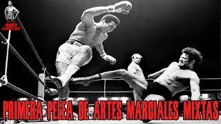 LA PRIMERA PELEA DE ARTES MARCIALES MIXTAS   MMA ADICTOS