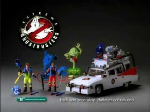 Trendmasters Extreme Ghostbusters Tv Commercial Youtube