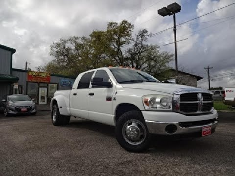 Dodge Ram 3500 Dually >> 2007 Dodge Ram 3500 Dually SLT Mega Cab Cummins Review ...