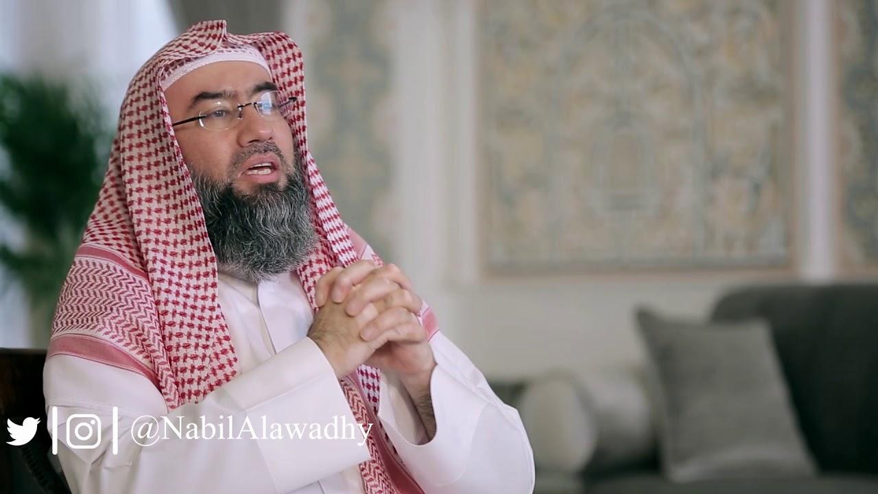 قال يا محمد إذا تريدني أن أسلم أنزل كتاب من السماء باسمي  !!  ، فأنزل الله هذه الآيات