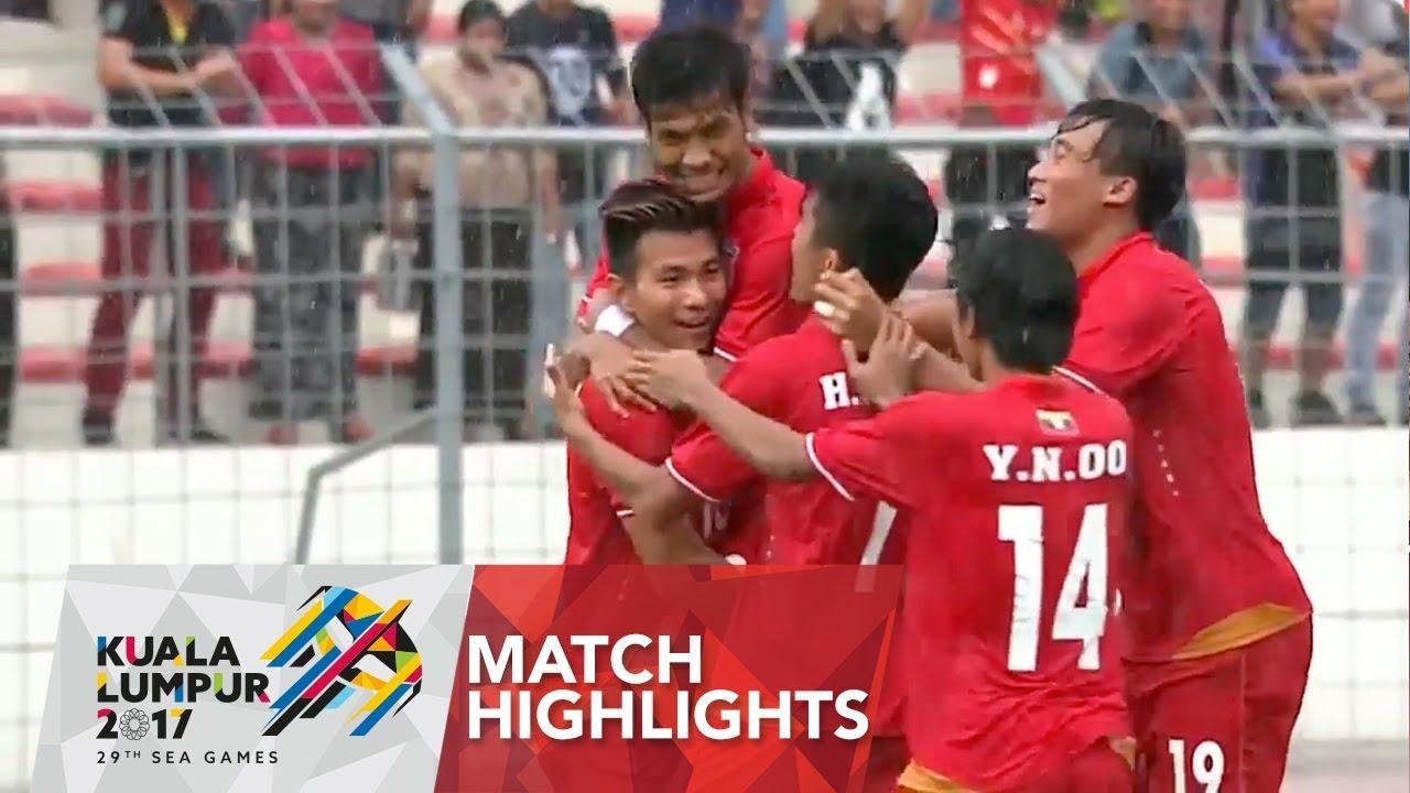 Video: U22 Myanmar vs U22 Singapore