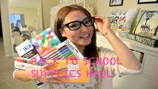 School Supplies Haul!! 2014 Thumbnail