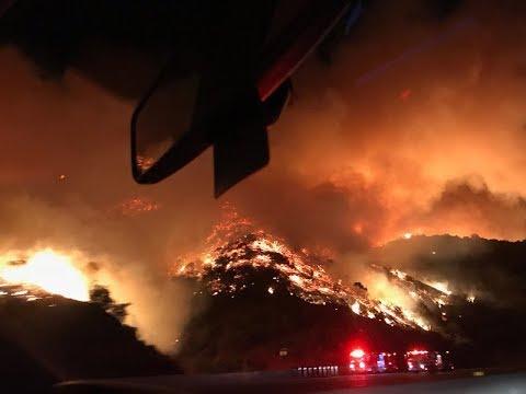 Skirball Fire: Everything You Need To Know About Evacuations, Burn Maps & More