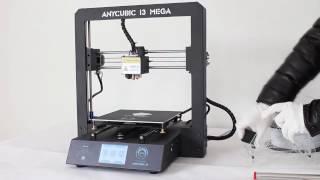anycubic i3 mega desktop 3d printer with trigorilla mainboard
