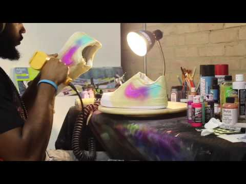 VAB Dirty Sprite Air Force 1 custom time lapse