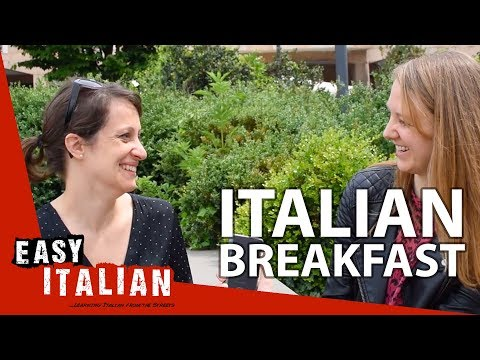 What Italians usually have for breakfast | Super Easy Italian 1