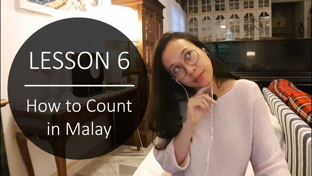 How to Count to Ten in Malay foto