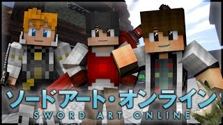 "Minecraft Sword Art Online Roleplay Episode 2 - ""Trading Secrets"" [Minecraft Anime Roleplay]"