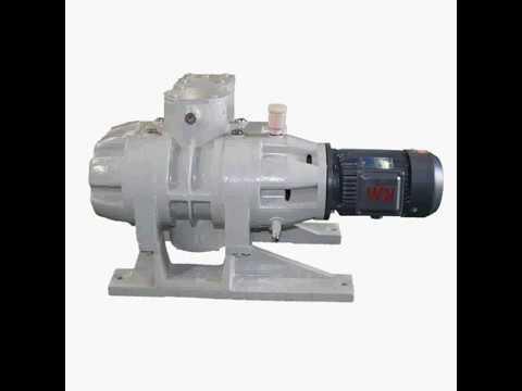 High vacuum metal oil diffusion pump