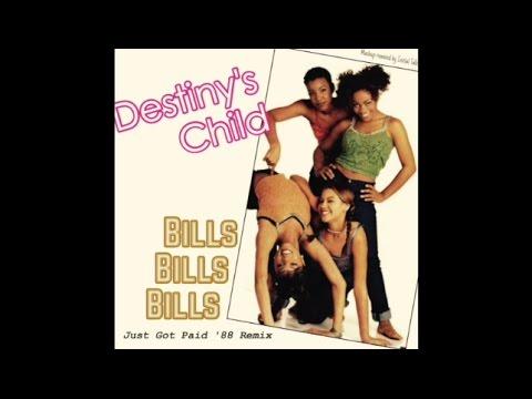 Destiny's Child - Bills, Bills, Bills (Just Got Paid '88 Remix) @initialtalk