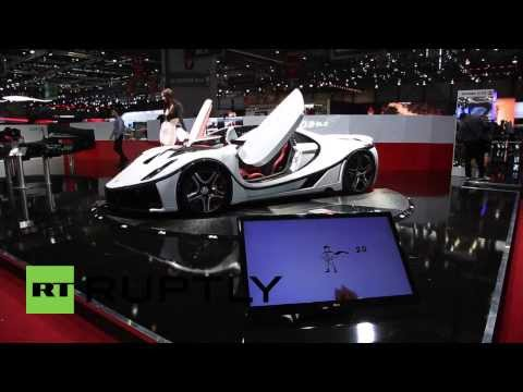 Switzerland: This GTA Spano is world's first supercar to use GRAPHENE