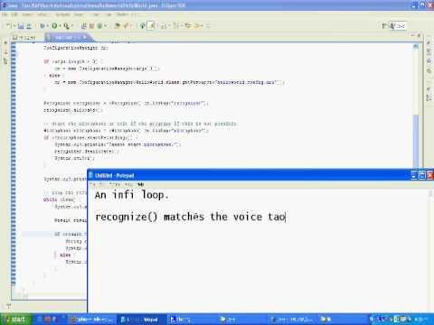 Speech Recognizer In Java - CMUSphinx - Part 3 - Puneet Kalra