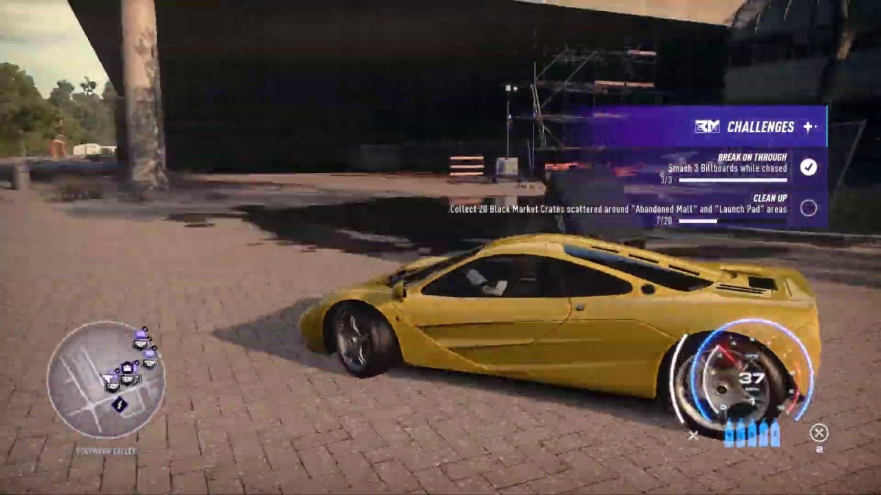 Nfs Heat Black Market Crate Locations Abandoned Mall Launch