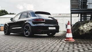 Porsche Macan GTS tiefergelegt mit ASC ... SOUND & SUSPENSION (+English subtitles)