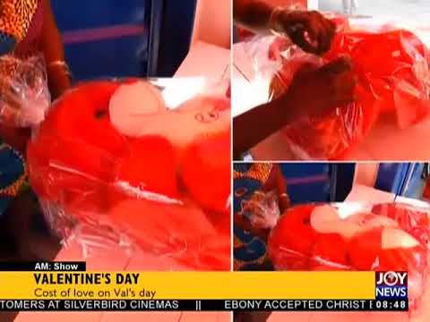 Valentine's Day - AM Showbiz on JoyNews (14-2-18)