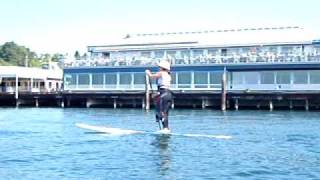 Video Anna stand up paddling at Ray's Boathouse download MP3, 3GP, MP4, WEBM, AVI, FLV Agustus 2018