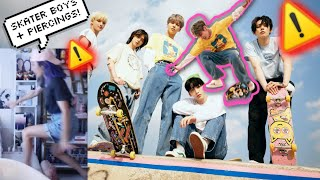 TXT 'FIGHT' CONCEPT PHOTOS & VIDEO CLIPS REACTION (ALL MEMBERS) 🛹 The Chaos Chapter: FIGHT OR ESCAPE