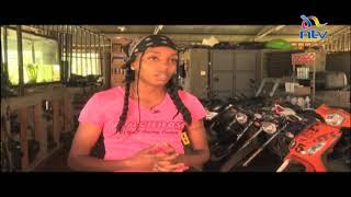 My Ride My Story Mary Nish Wairimu Repairs Motorbikes Says She Enjoys Her Job