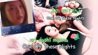 Red Velvet (레드벨벳) - One Of These Nights (7월 7일) (Karaoke/Instrumental)