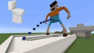 Tuvaletten Evler | Minecraft Modern Evler