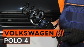 Kaip pakeisti spyruoklės VW POLO 4 [PAMOKA AUTODOC]