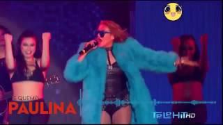 Paulina Rubio   Me Quema  en  vivo