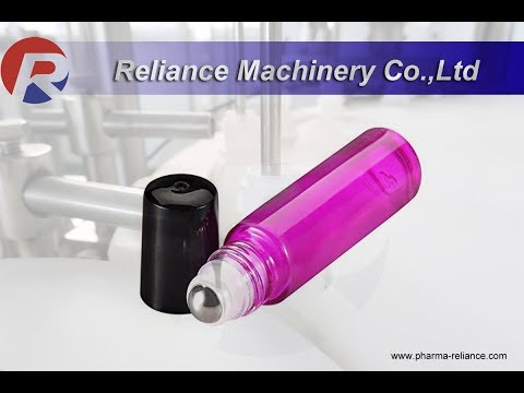 91)  Roller On Essential Oil Filling Machine | Reliance Machine| China manufacture