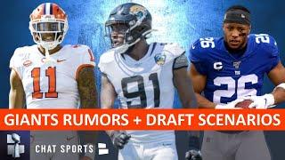 New York Giants Rumors: Giants NFL Draft Scenarios + How Christian McCaffrey's Deal Impacts Saquon
