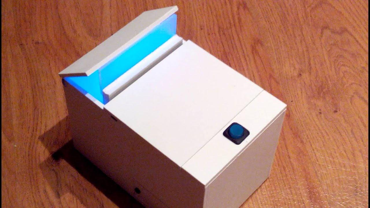 Как сделать коробок для сигарет 230
