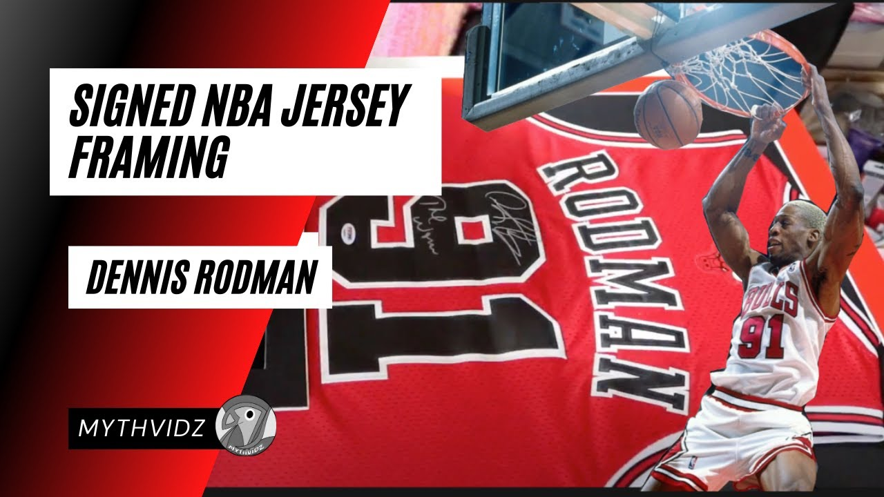 info for 469f1 502f6 NBA Jersey │ DIY │Framing DENNIS RODMAN Signed Jersey