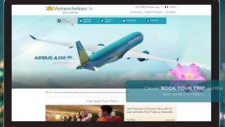 Vietnam Airlines - Instruction for Booking Online