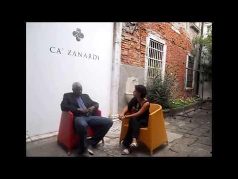 GAP( global art project )  INTERVIEW WITH CARL HEYWARD and MONICA LISI Venice, Italy Ca'Zanardi