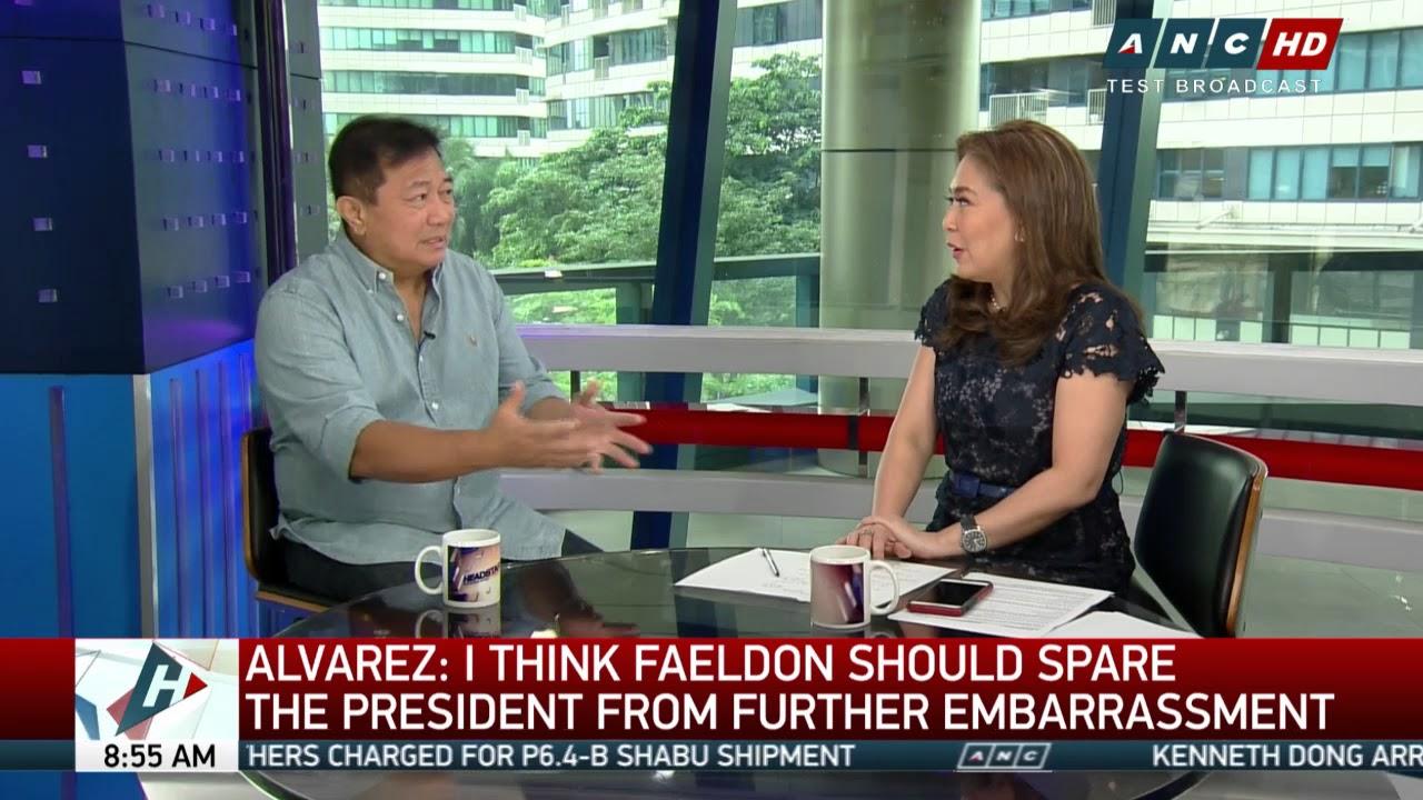 House to process Sereno impeach rap, says Alvarez