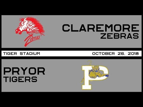 Football: Claremore vs Pryor