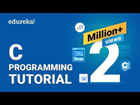 C Programming Tutorial | Learn C Programming | C Tutorial For Beginners | Edureka thumbnail
