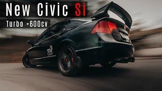 Honda Civic Si Turbo  600cv