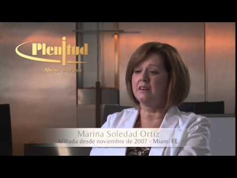 Plenitud Funeral Homes, testimonio Marina Soledad.