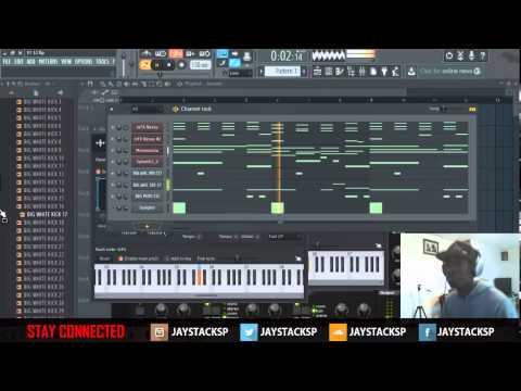 Beat Making In Fl Studio 12 w/ FREE FLP Prod. By Jay Stacks