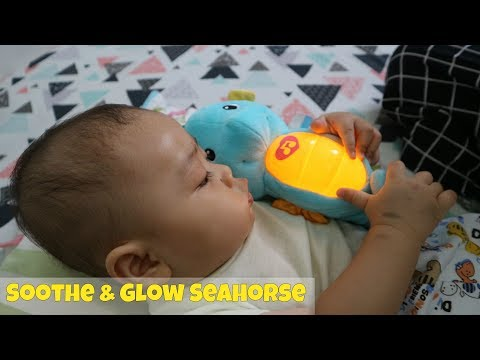 Mainan Bayi Ocean Wonders™ Soothe & Glow Seahorse™ Blue Dari Fisher Price
