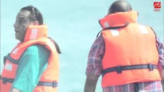 فيديو شاهد برنامج رامز قرش البحر الحلقة 21 الحادية والعشرون - حلمي بكر وايمن بهجت قمر