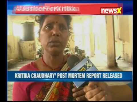 Mumbai: Kritika Chaudhary's post mortem report released, kin demands justice